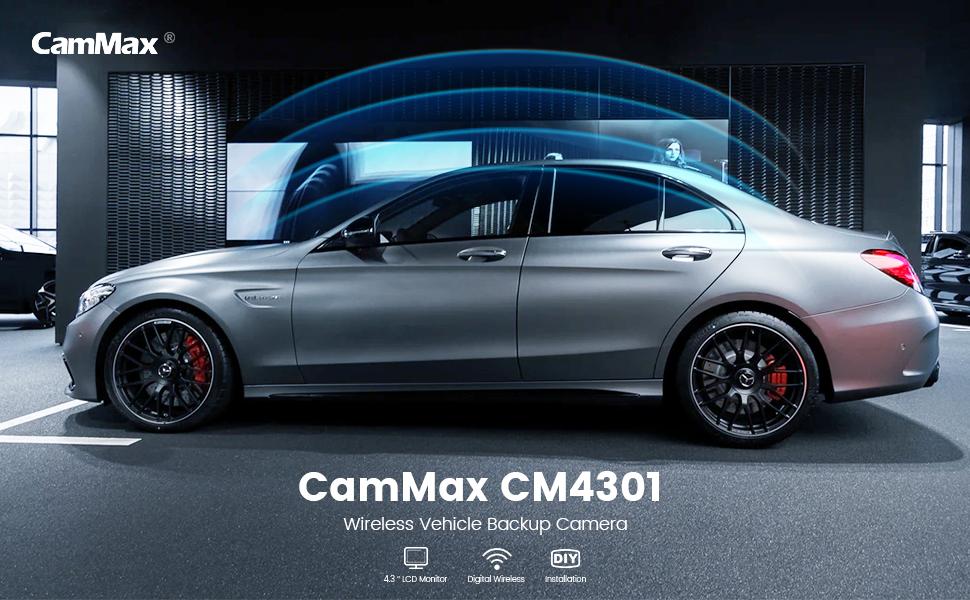 Cammax vehicle backup camera