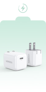 2 Pack usb c charger