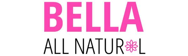 bella all natural logo