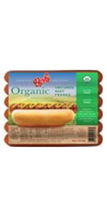 Berks Organic All Beef Hot Dogs