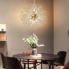 Fireworks Pendant Light,Crystal Ceiling Light Fixture,Modern Sputnik Chandelier,beaded chandelier