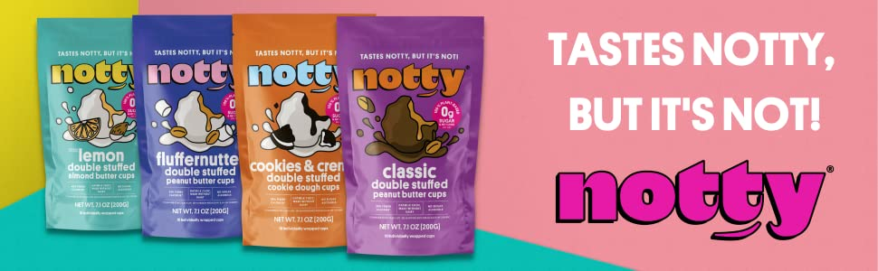 Notty candy cups - taste naughty but they're not