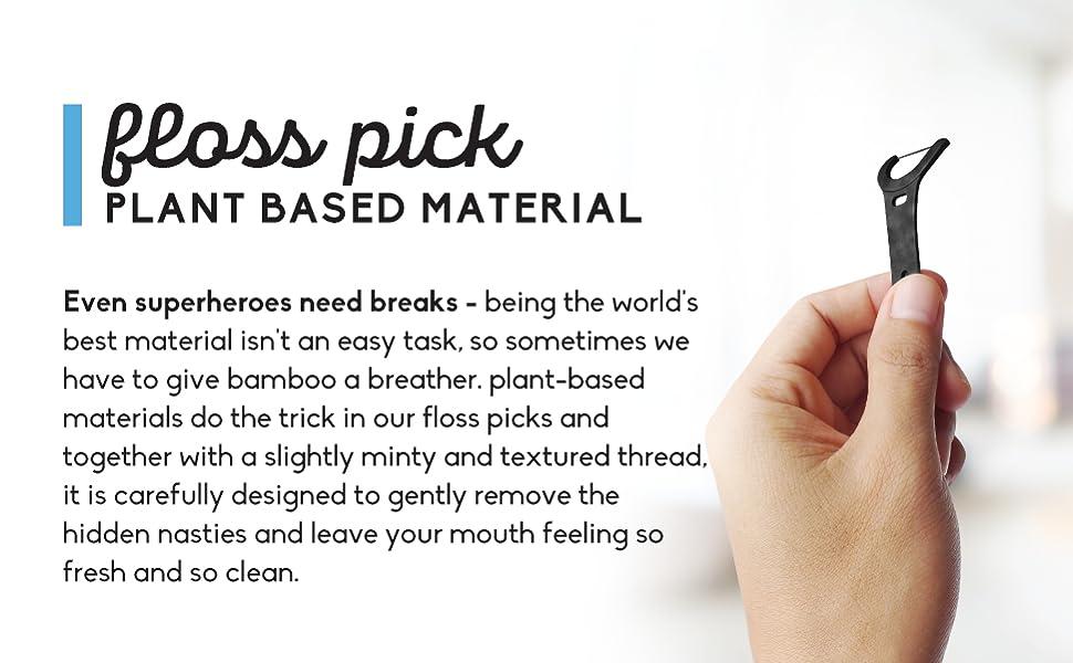 Plant Based Floss Picks
