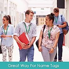name tag lanyards