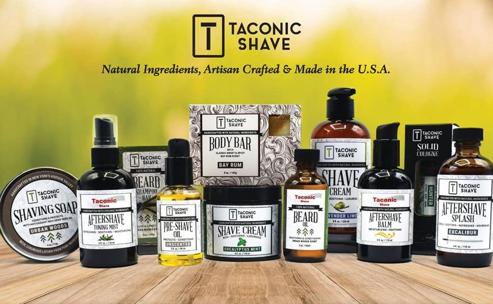 Taconic Shave All Natural Beard Balm