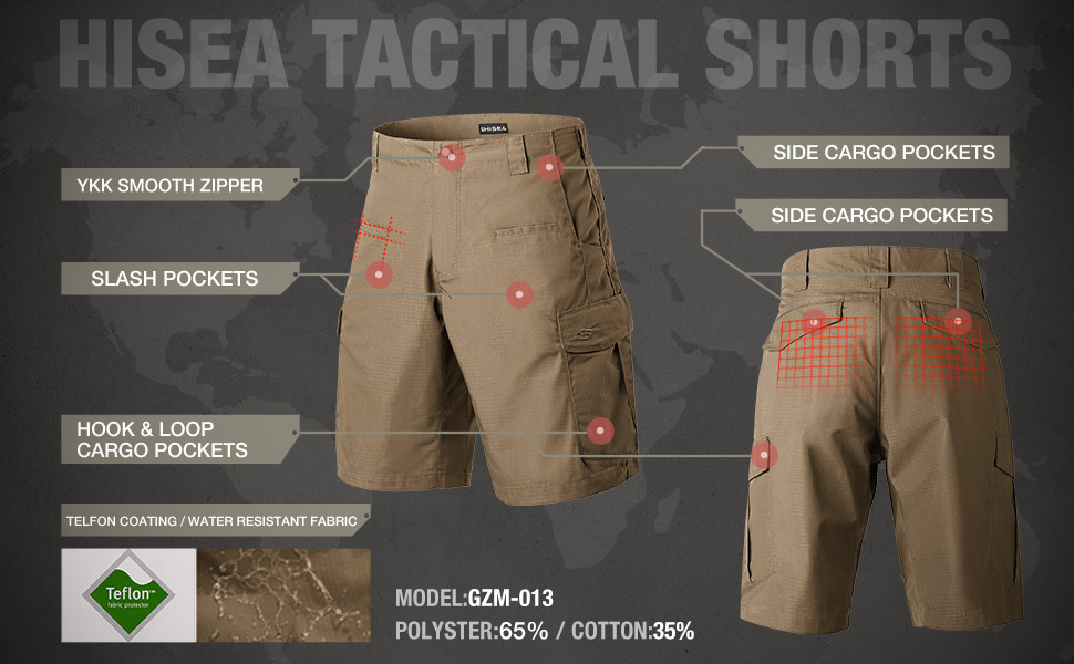 cargo shorts for men descripition