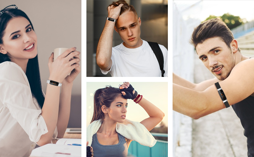 fitbit luxe bands for men