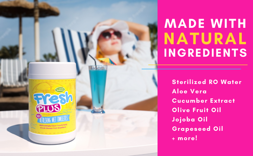 Made with Natural Ingredients...