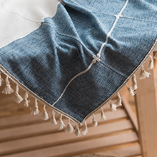 TASSEL WITH TABLE CLOTH 220X220
