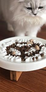 Pet slow food bowls/Ceramic slow food bowls/cats slow bowls/dogs slow bowls/dog lick pad