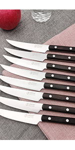 steak knives wenge wood 150