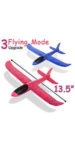 foam airplane 3 fly mode