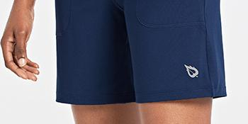 loose fit leg running shorts