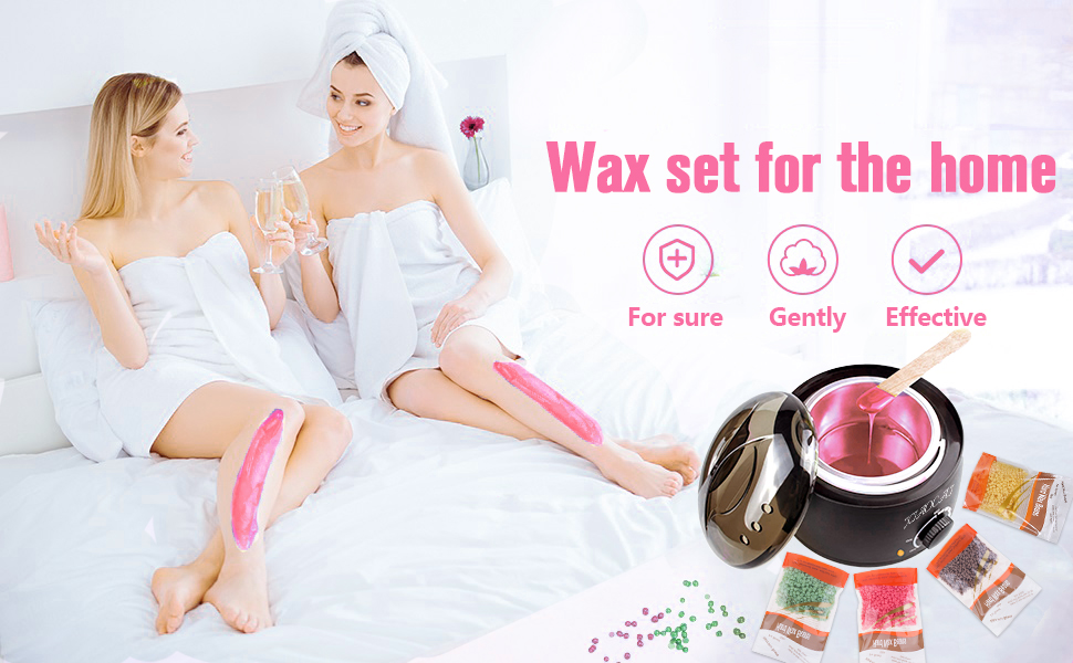 Wax set for the home