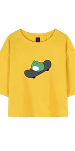 Frog Crewneck T Shirt