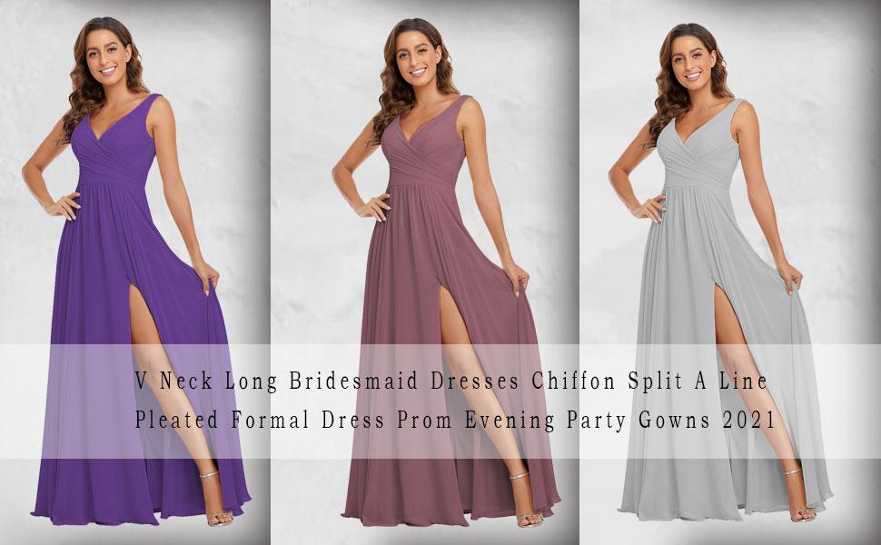 V Neck Formal Dress for Women