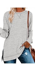 Lightweight Split Side Sweatshirts
