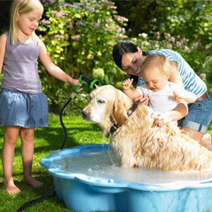 Pet bathing