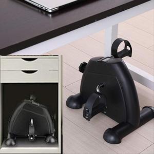 Black under desk bike