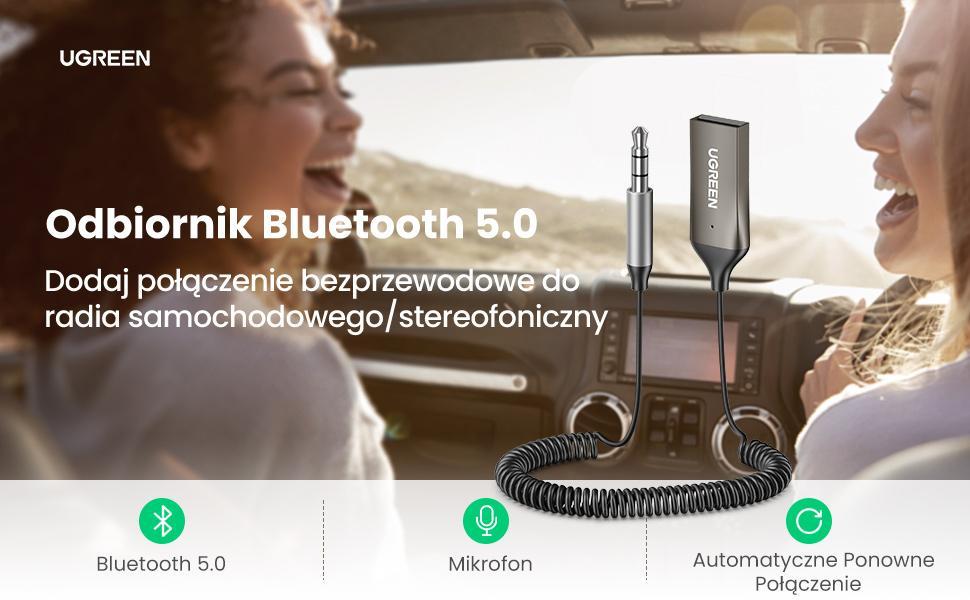 UGREEN Samochodowy adapter Bluetooth