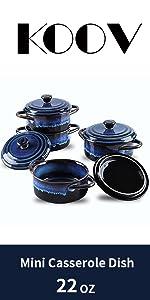 mini casserole dish