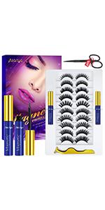 Magnetic Eyelashes 10 Pairs