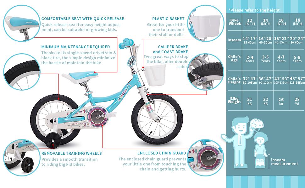 Unicorn blue bike