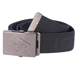 Lee Cooper Workwear LCBELT613 Canvas Belt