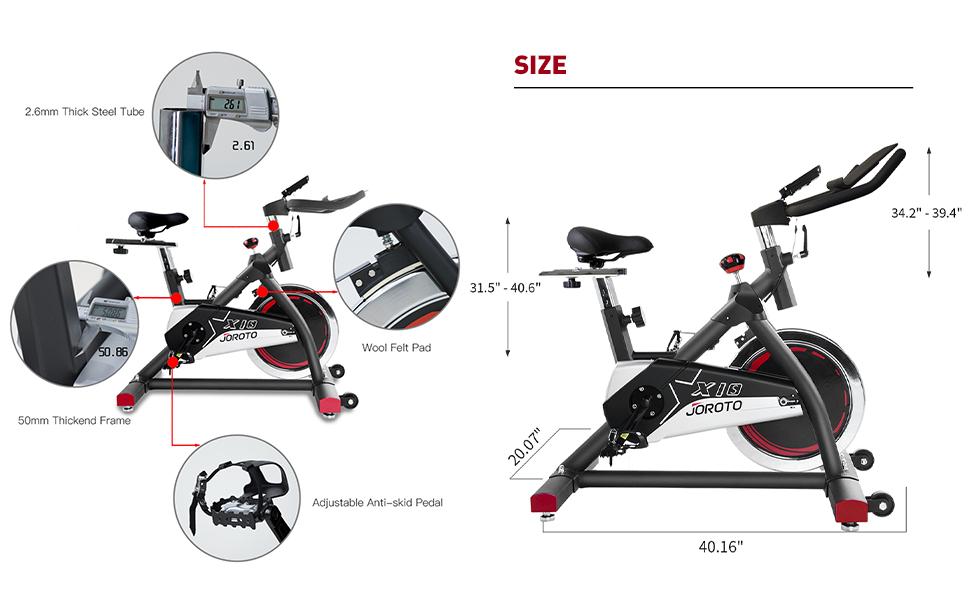 X1S indoor cycling bike