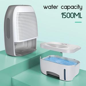 water tank 1500ml dehumidifier