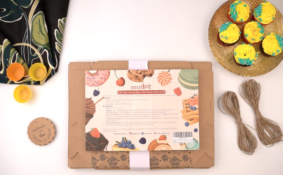 6 pc cupcake