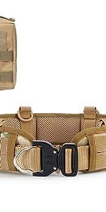 1 x battle belt, 1 x molle pouch