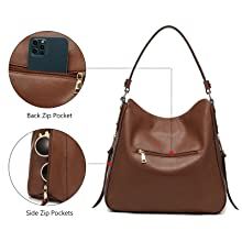 large hobo purses for women