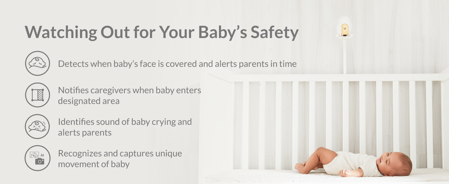 Watching Out for Your Baby's Safety Cubo Ai Plus Smart Baby Monitor