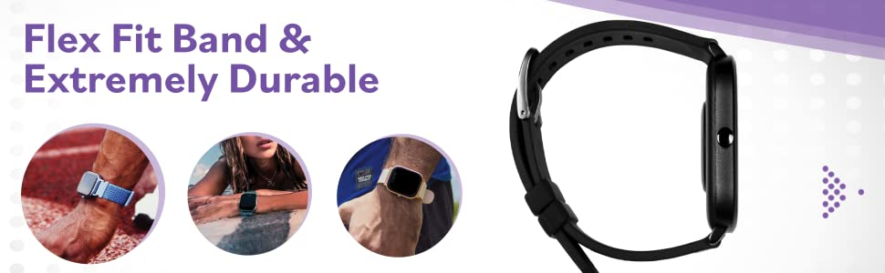 flex fit band amp; extremely durable