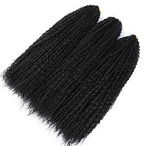 curly crochet hair