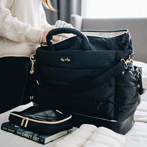 itzy ritzy, dream weekender, weekender bag, hospital bag, lightweight diaper bag