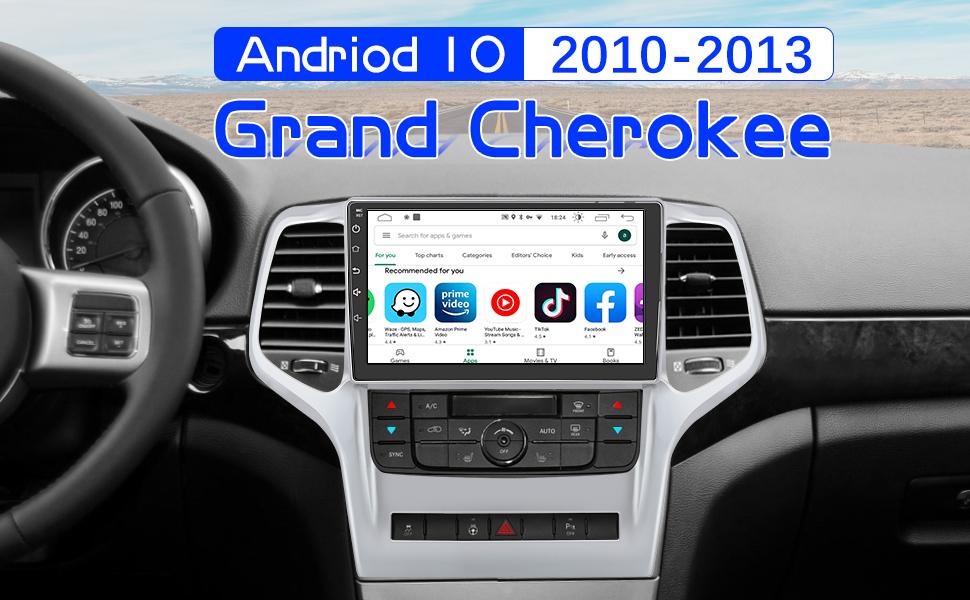 jeep grand cherokee radio
