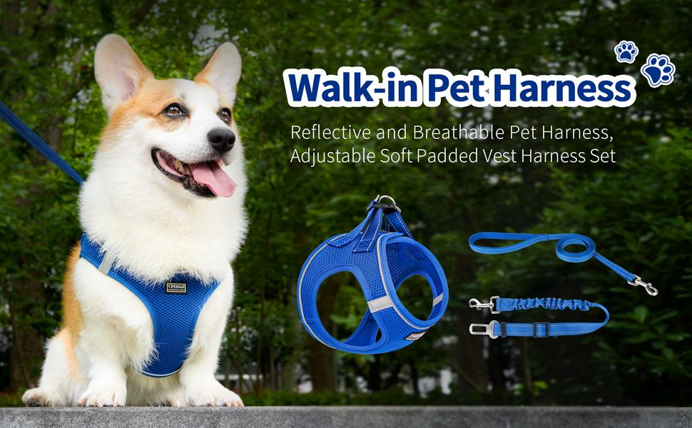 Walk-in Air Dog Harness