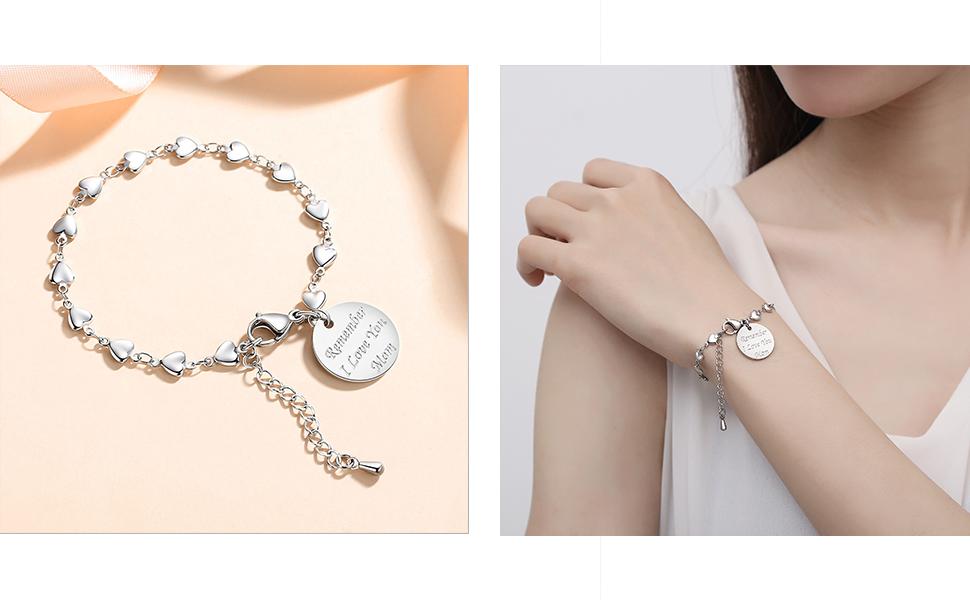Bracelets from Mom