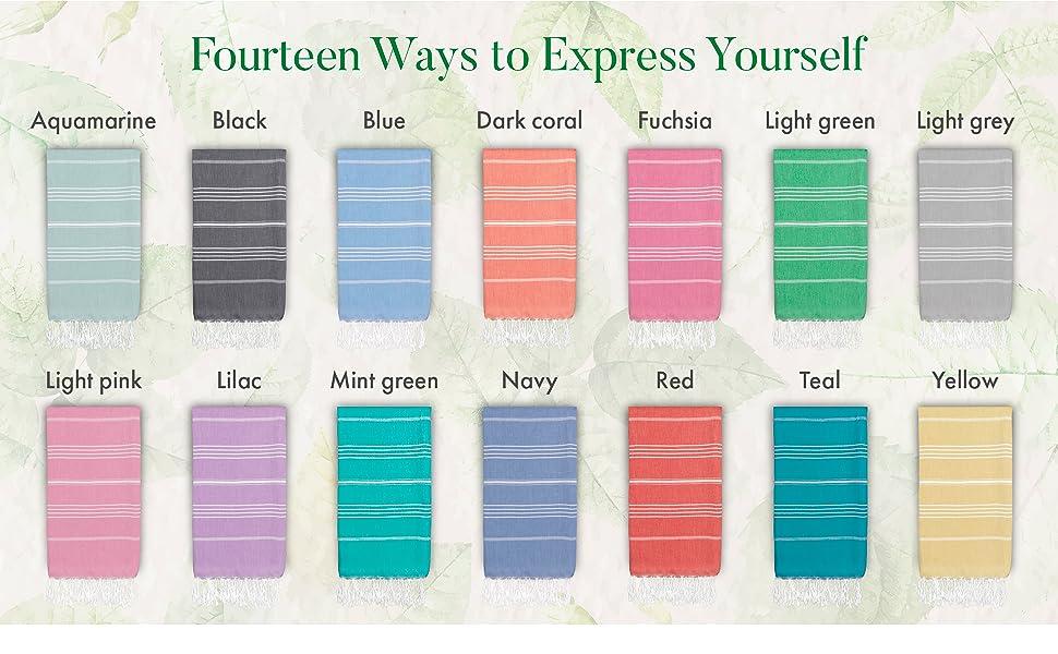 Fourteen Ways to Express Yourself
