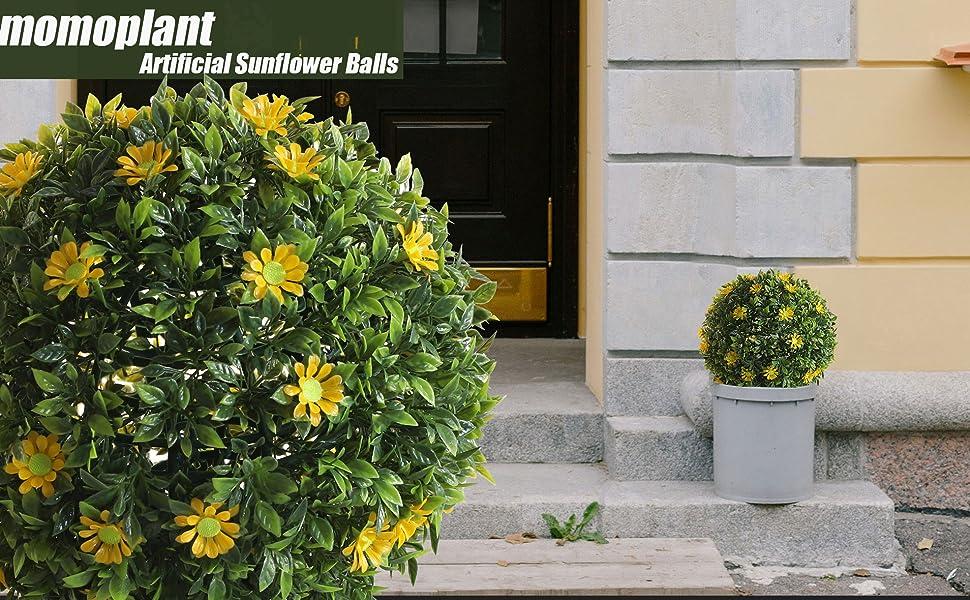 Artificial Sunflower Balls