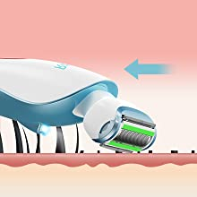 womens electric razor