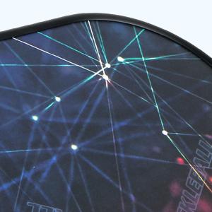 Glass fiber surface
