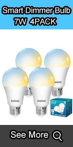 smart dimmer bulb