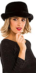Hats for Women Faux Fur Bucket Hat Beanie Fashion Soft Warm for Spring Fall