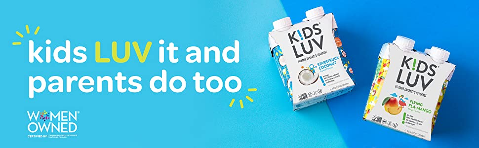 Kids luv mango and coconut tetra 4 pack