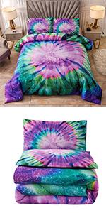 Purple Comforter Set