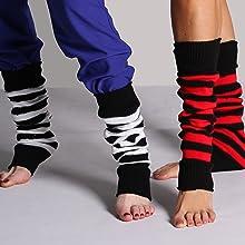 Stripe Leg Warmer