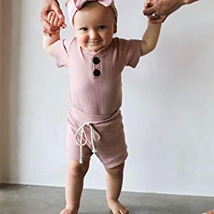 baby solid outfit